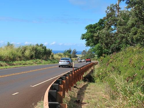 Highways On The Island Of Kauai In Hawaii